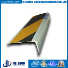Customized Carborundum Stair Nosing in Safety Color