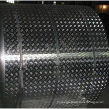 Aluminum Five Diamond Pattern for Anti Silp