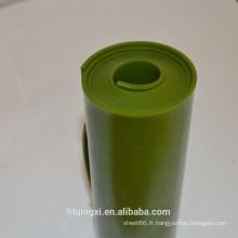 Rouleau de feuille en plastique ignifuge d'unité centrale