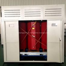 3150KVA 11 / 0.415KV transformador de resina moldeada en seco