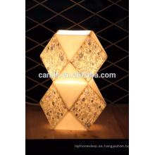 Lámpara de mesa moderna de cristal de la decoración interior