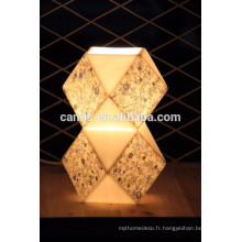 Lampe de table en cristal moderne de décoration d'intérieur