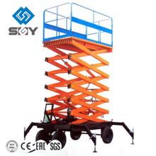Movable Hydraulic Scissor Work Platforms