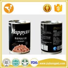 Premium carne y pollo sabor enlatado comida para perros pet snacks