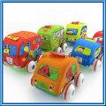Newer Cartoon Lovable Kids′ Pull Back Plastic Cars Toy