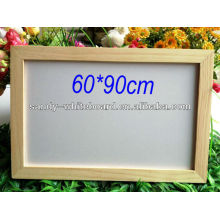 wooden a frame whiteboard