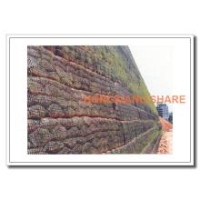 Basalt Fiber Mesh Geogrid Product, 300GSM