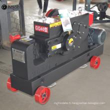 GQ40 coupe-barre de machine de coupe d'acier inoxydable