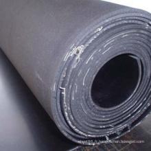 Feuille en caoutchouc d'insertion de tissu de haute résistance