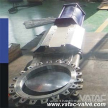 Pneumatic Operated Full Lug Knife Gate Valve