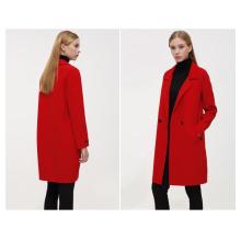 2016 New Elegant Coat Women Winter Wool Coats