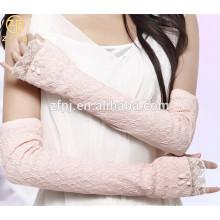 Noble Dame Fashion Sommer Lange Spitze Sonnenschutz Handschuh Fabrik