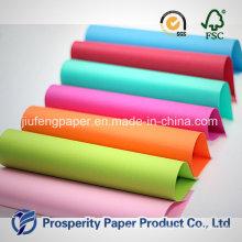 Hochwertiges buntes Papierfarbpapier
