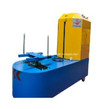 Plastic wrap baggage machine