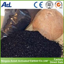 coquille de noix de coco charbon actif