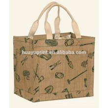 Хозяйственная сумка из льна