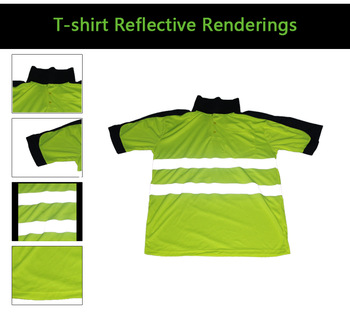 Safety Workwear with Reflective Tape
