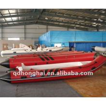 fibra de vidrio de rib390 de barco rígido de pvc