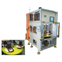 Cabezas dobles cuatro que trabajan la estación vertical Tipo bobina automática del estator que enrolla la máquina