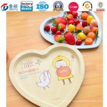 Heart Shaped Metall Verpackung Tray für Obst Lagerung