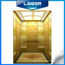 Titanium Alloy Decoration Passenger Elevator