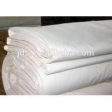 Buena calidad para el paño 100% algodón blanqueado