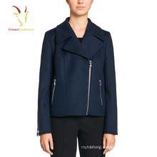 Latest Design Short Coat,Cashmere Wool Cute Winter Coats For Ladies
