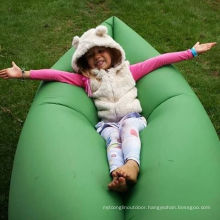 2016 Newest Design Nylon Fast Inflatable Air Hangout Sleeping Bag