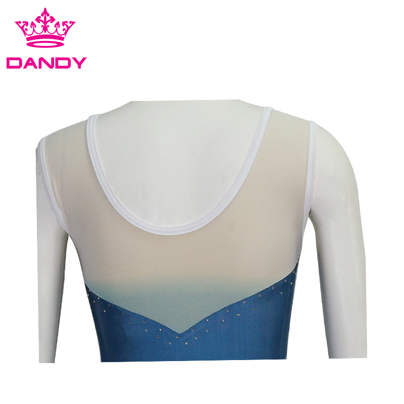 long sleeve girls gymnastics leotard