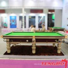 Nouveau design en gros TB-CS021 table de billard pas cher en marbre