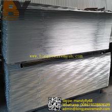 Material de construção de lâmina de nervuras de malha de metal de alta costura