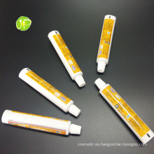 Aluminio y tubos de empaquetado cosmético plástico pintura tubos Abltubes Pbl