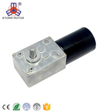 Factory Direct Sales 12 volt dc right angle type brushless gear motor