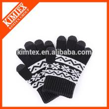 Guantes de lana de pantalla táctil para mujer