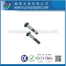 Made In Taiwan Square Head Bolts