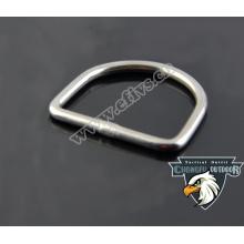 La NUEVA hebilla produted del anillo del acero inoxidable D- para el paracord y el collar al por mayor del perro alibaba recomienda