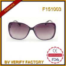 F151003 Kunststoffrahmen Frauen Sonnenbrillen