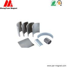 Segment Shape NdFeB Neodymium Permanent Magnet for Chaff Cutter Machines