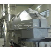 Organic fertilizer fluidized bed drier