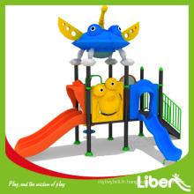 2014 Matériel d'aire de jeux scolaire d'occasion à vendre, coffre-fort, haute qualité et coloré LE.XK.008