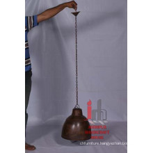 HANGING BROWN LAMP