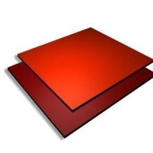 PE PVDF coating aluminum composite panel