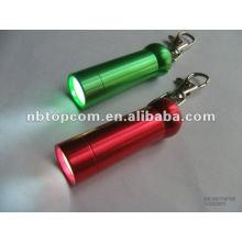 Lanterna de alumínio mini chaveiro levou
