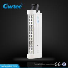 Hecho en China luz de emergencia led portátil recargable