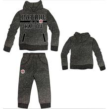 Fashion Leisure Cotton Pullover Sport Men Hoody with Pant, Track Suit (SQM-112)