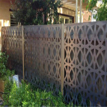 Laser Cutting Metal Fence Panel