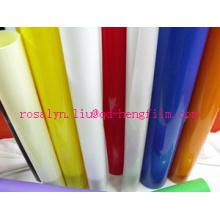 Película rígida de PVC para formação de vácuo para embalagem de brinquedos, ferramentas, presente, caixas de dobramento