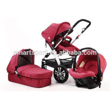 European style Aluminum baby stroller 3-in-1 China
