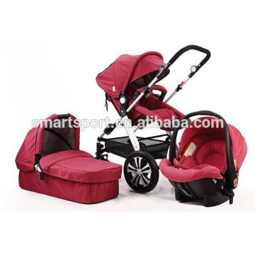 Luxus Kinderwagen 3-in-1