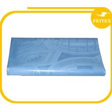 tela al por mayor del mantel del damasco, mantel del bordado textiles 100% del algodón